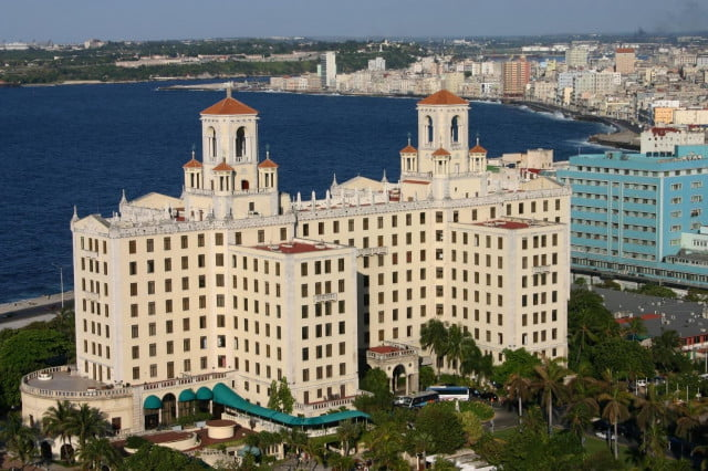 The Hotel Nacional (National Hotel) in Havana, Cuba. While hotels exist in Cuba, few global chains do business on the island. Tourism is still off limits for U.S. citizens, but as relations improve, Airbnb is getting a head start on the hospitality industry by leveraging the many private homestays.
