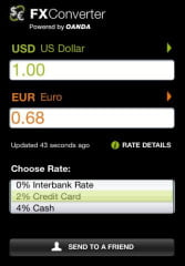 Currency Converter iOS screencap