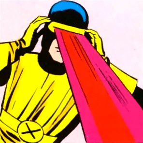 Cyclops, X-Men character created by Stan Lee and Jack Kirby
