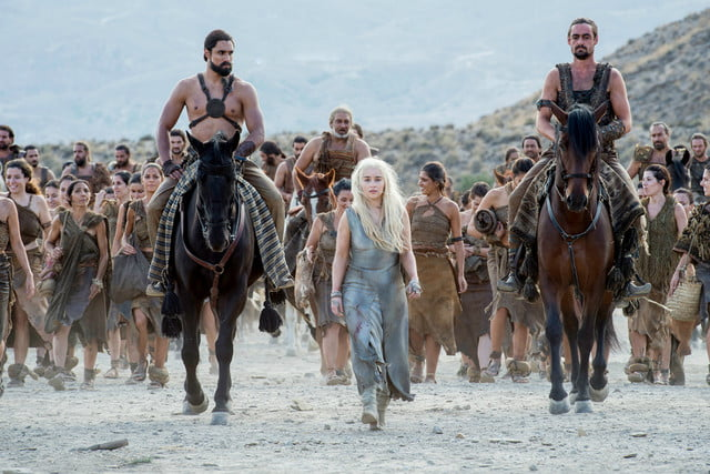 game of thrones season  ep recap oathbreakers punished an audience teased daenarys among the dothraki