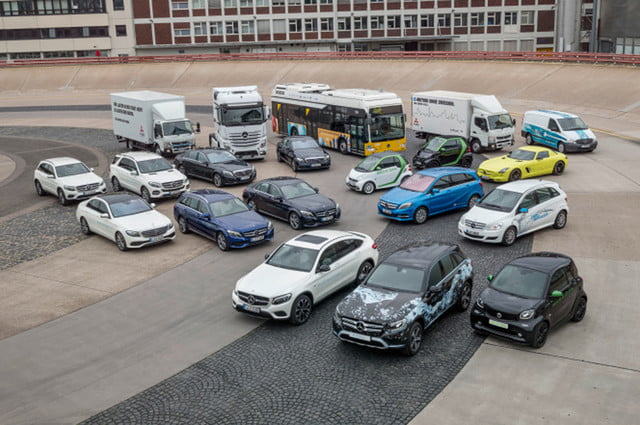 daimler mercedes benz all power trains electric mobility plan vehicles x