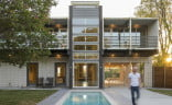 Dallas Shipping Container Home Pool