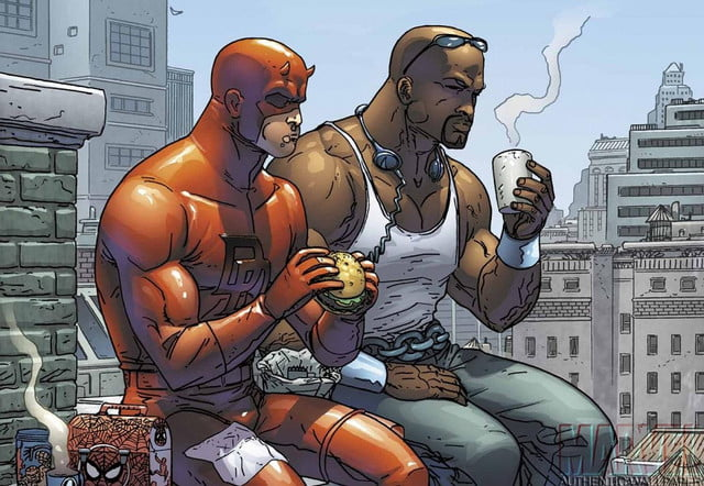 marvel tv partners netflix four series plus tie mini daredevil with luke cage