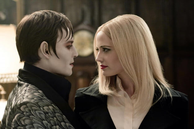 Dark Shadows Depp and Green