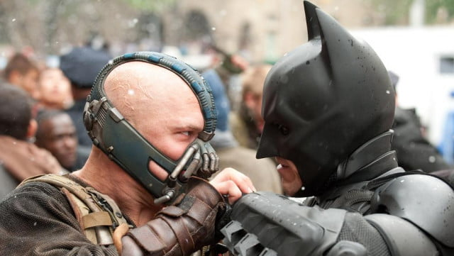 Dark Knight Rises -- Batman and Bane