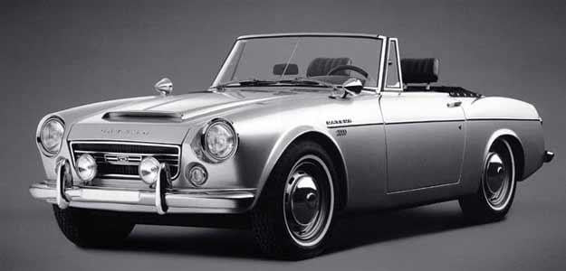 datsun fairlady bad car name