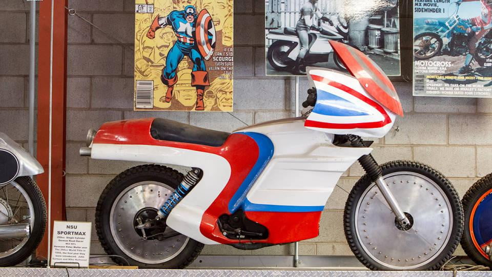 Captain America TV movie motorcycle resurfaces | Digital ...