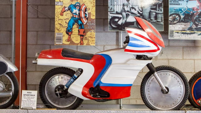 captain america tv movie bike found in stuntmans collection motorcycle