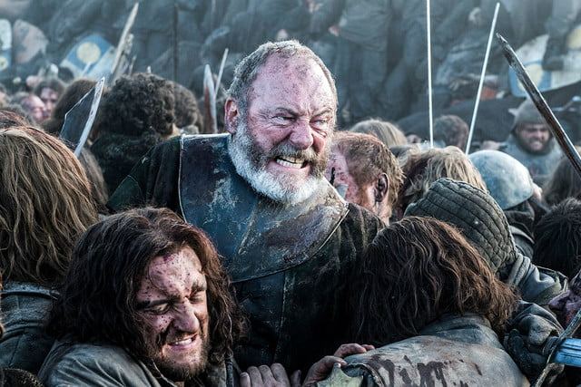 five shows to stream june  davos grimacing