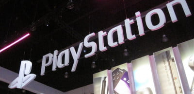 The entrance to Sony's E3 2010 Booth
