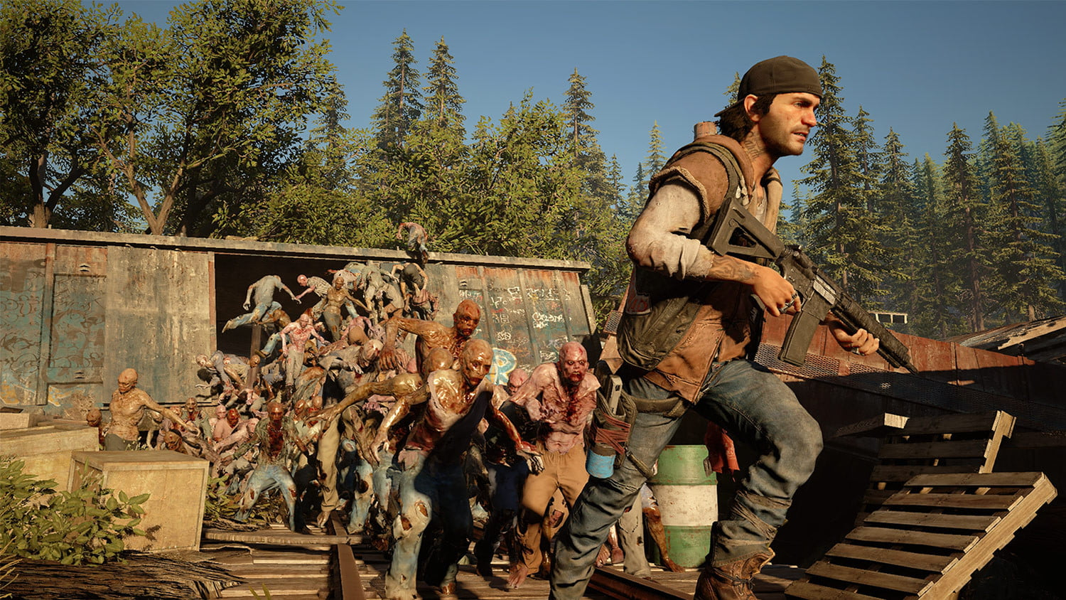 Days Gone Zombie Horde