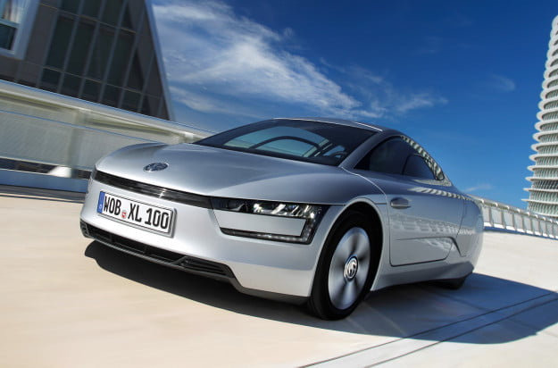 VOLKSWAGEN XL1: THE CARBON FIBER REINFORCED POLYMER GERMAN LAND DOLPHIN