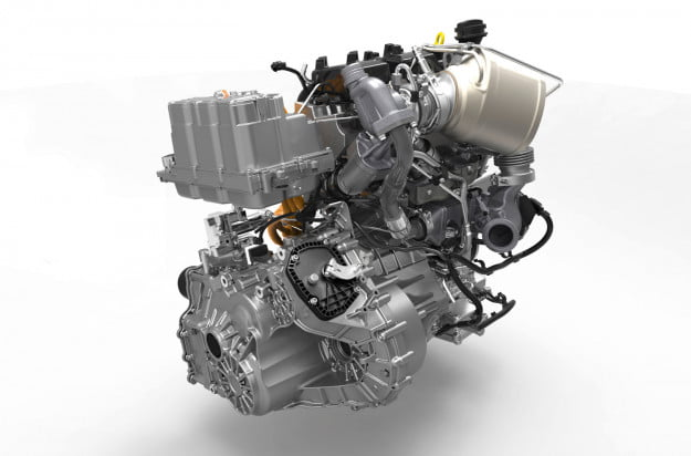 VOLKSWAGEN XL1 engine
