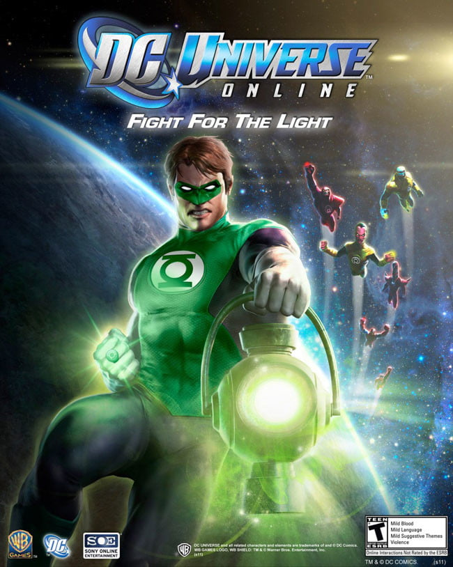 DC Universe Online Fight for the Light
