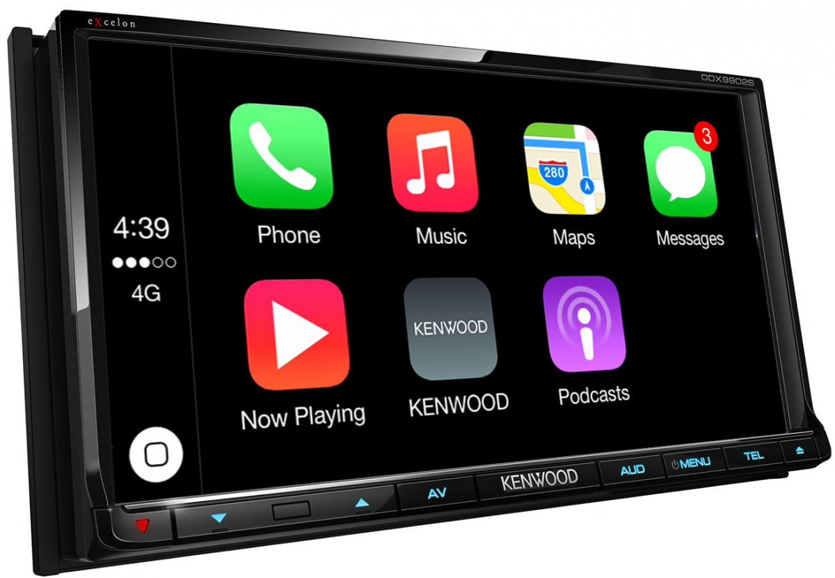 kenwood receivers with apple carplay and android auto