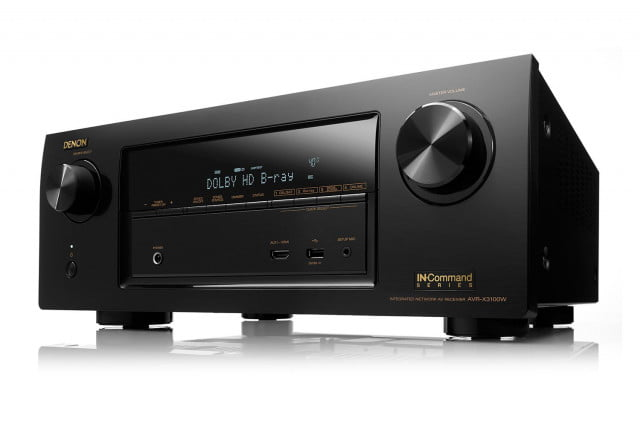 denon unveils three new receivers command series de avrx  w e bk ot bg hi