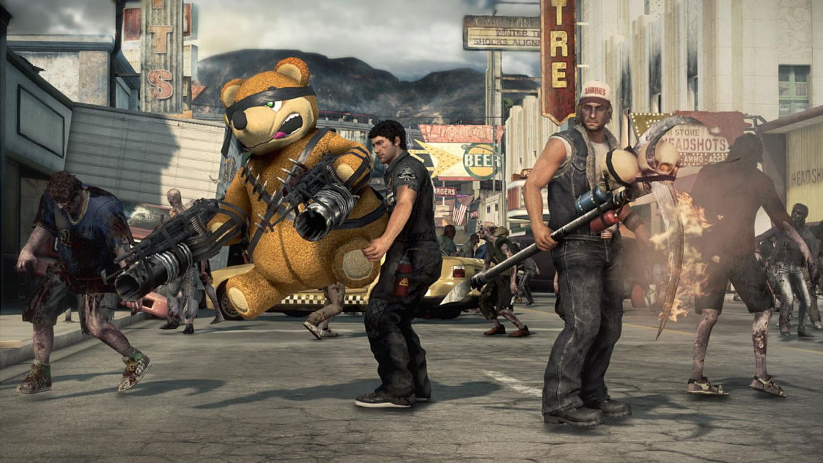 guide surviving hordes dead rising  screenshot