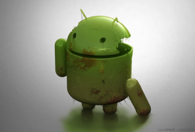 Decayed Android