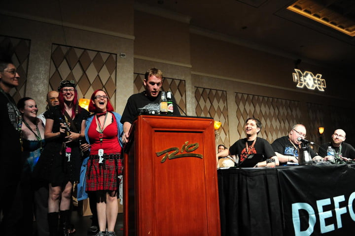 mr worst case scenario heads to defcon def con  hacking conference pictures from viss
