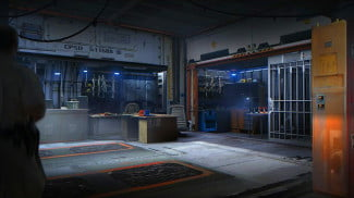 defiance game law keeper interior
