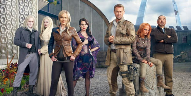 defiance tv series cast