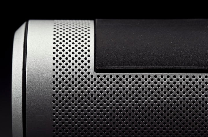 definitive technology sound cylinder revie custom perforated aluminum grill