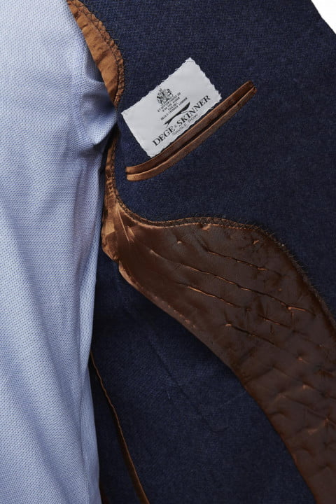 bentley takes bespoke to your torso with these savile row driving jackets dege skinner bespokedrivingjacket interiordetail