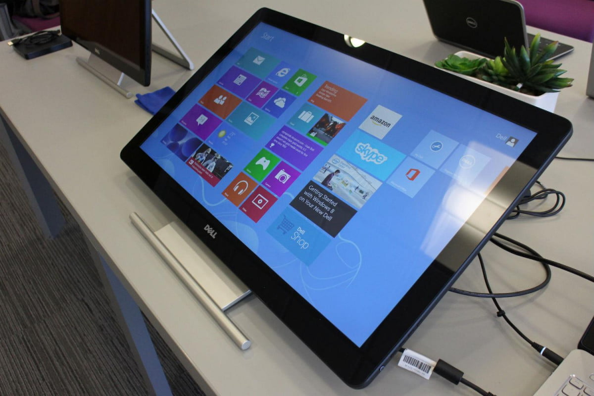 dell announces flexible new touchscreen monitors  touch monitor recline