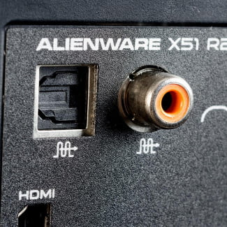 Dell Alienware X51 Gaming Desktop review audio ports