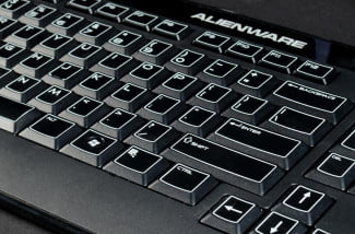 Dell Alienware X51 Gaming Desktop review keyboard angle