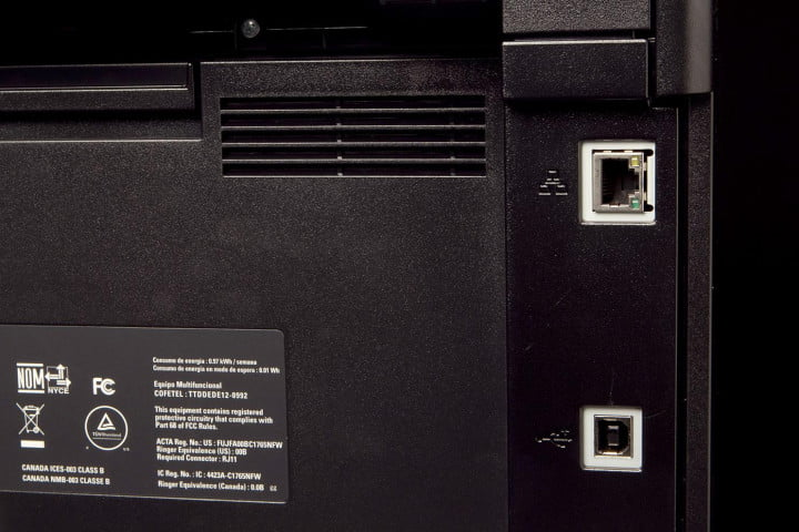 dell c  review printer back ports