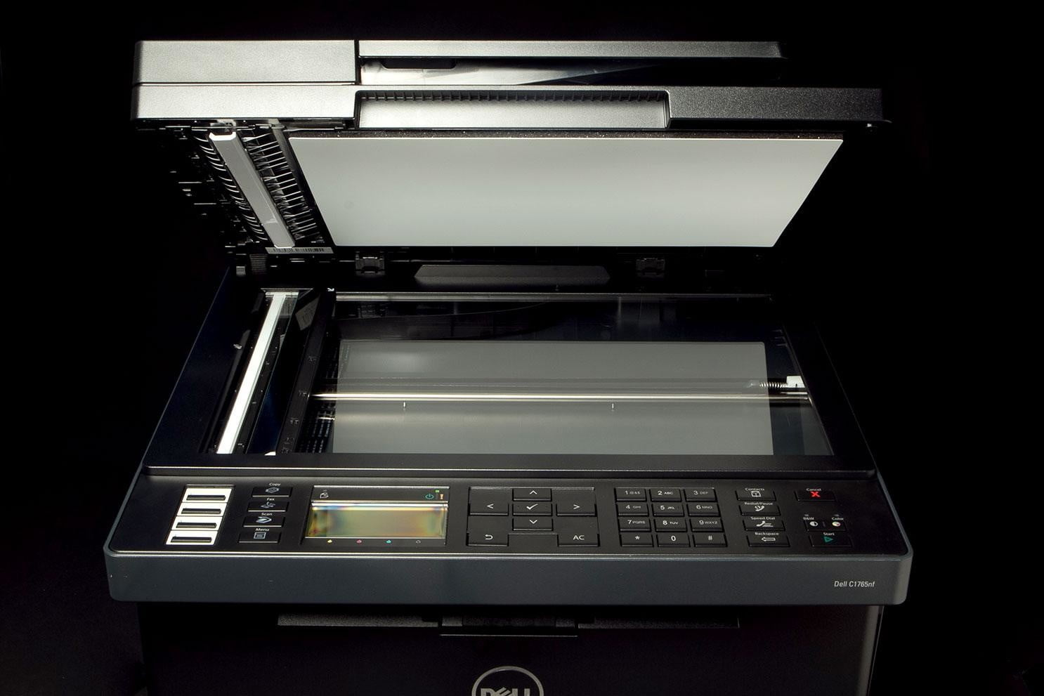 Dell-C1765-Printer-front-scanner-bed