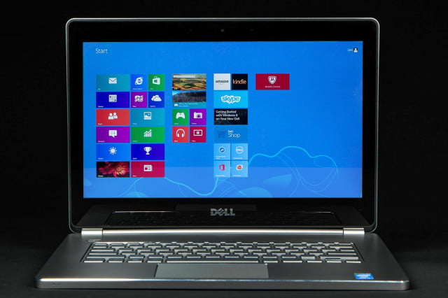Dell Inspiron 14 7000 front windows 8