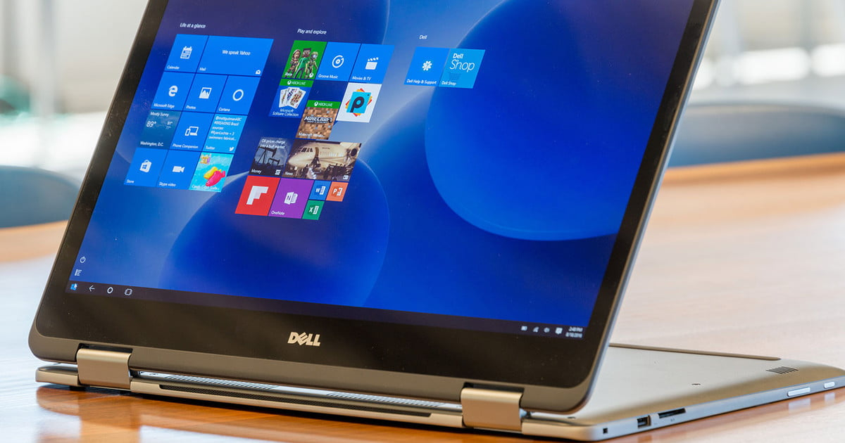 dell inspiron 17 7000 2 in 1 2016 review digital trends. Black Bedroom Furniture Sets. Home Design Ideas