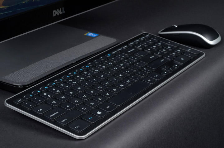 dell inspiron one  review keyboard
