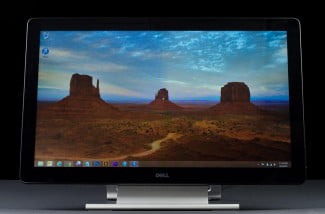 Dell p2714t front screen