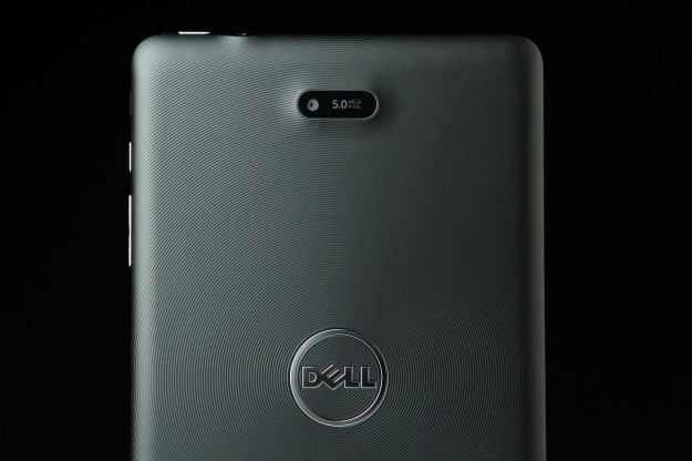 Dell Venue Pro 8 back top