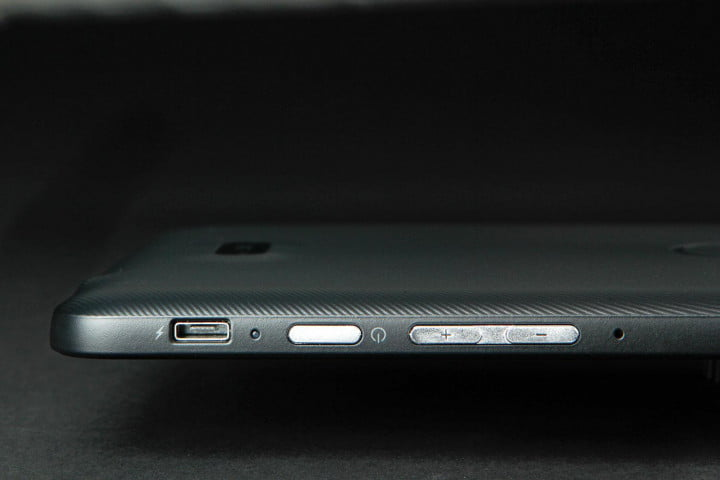 dell venue  pro review button