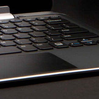 Dell XPS 10 Review tablet trackpad keys
