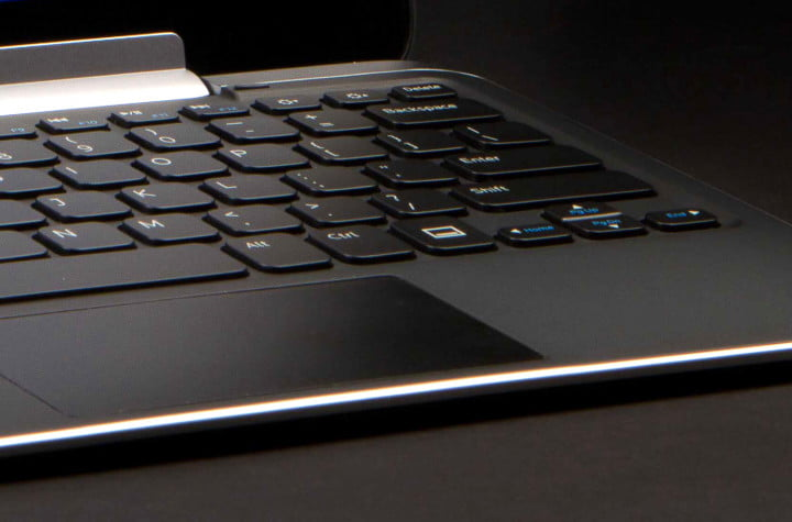 dell xps  review tablet trackpad keys