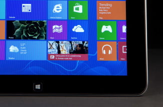 Dell XPS 10 Review tablet windows home button