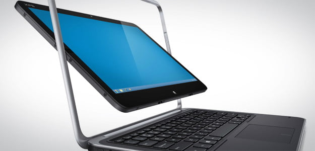 Dell XPS 12 touchscreen hybrid laptop tablet
