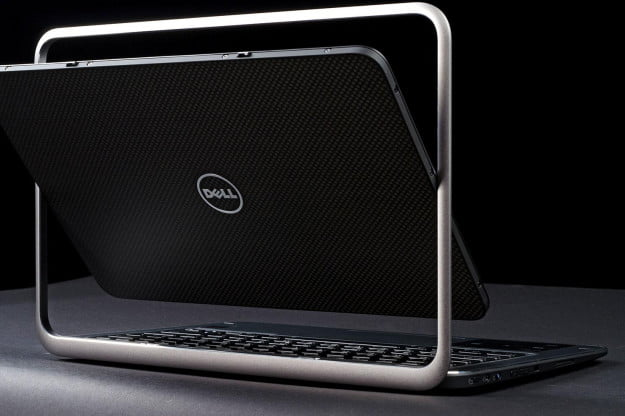 Dell XPS 12 back rotated