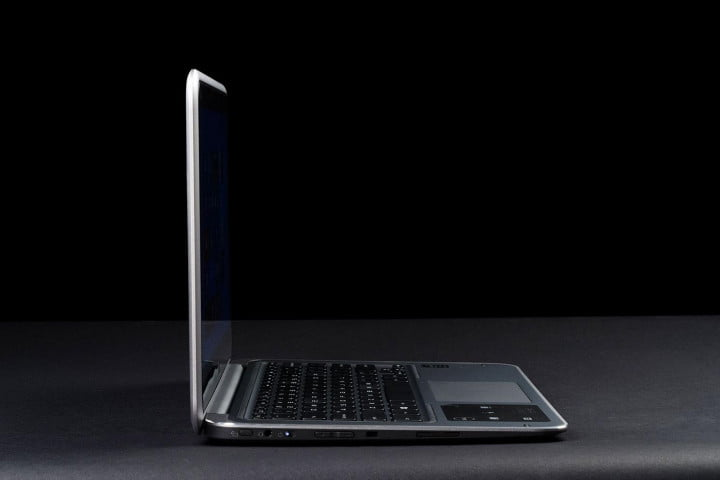 dell xps  review left side