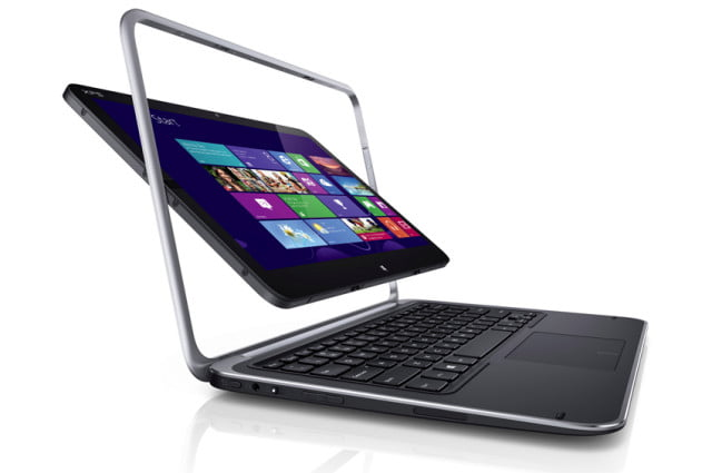 Dell XPS 12 review hybrid laptop tablet windows 8