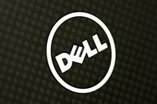 dell xps 12 review ultrabook carbon fiber lid logo
