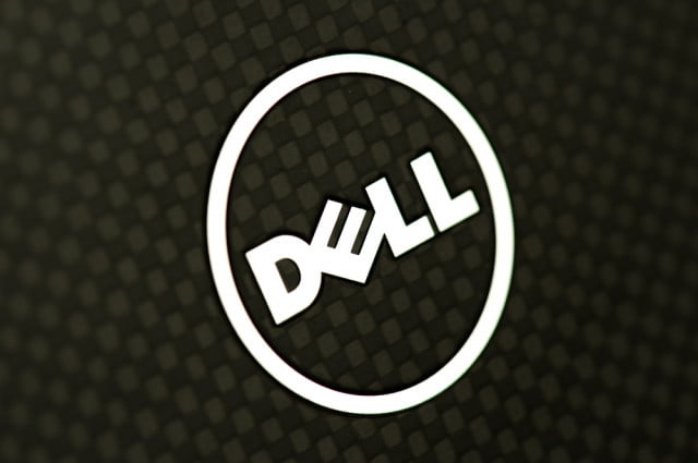 dell xps  review ultrabook carbon fiber lid logo