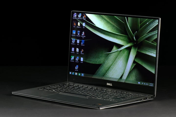 best business laptops dell xps  review angle screen