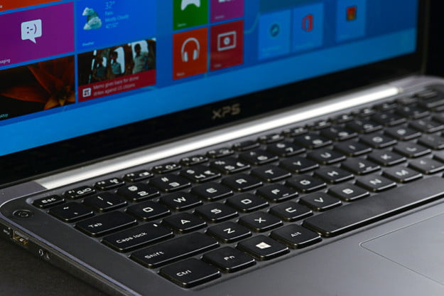 Dell-XPS-13-review-keyboard-angle
