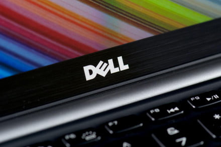 Dell XPS 13 Ultrabook dell logo